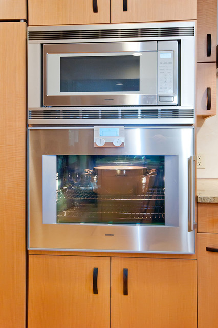 gaggenau oven and microwave - modern - major kitchen appliances - san francisco