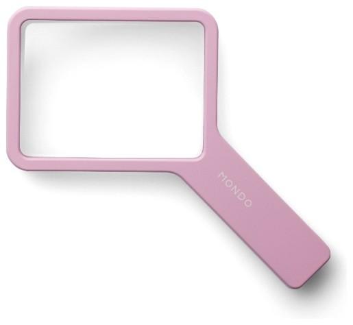 Mondo loupe leselupe pink moto design bauhaus look for Designer schreibtisch accessoires