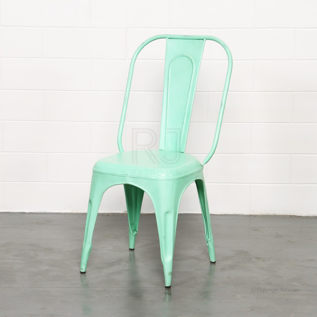 FRANKIE CAFE DINING CHAIRS LIME GREEN
