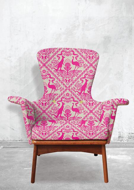 Fabric In Australia We Trust Neon Fever Contemporary