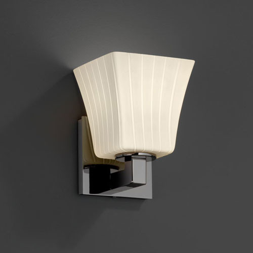 Bathroom Wall Sconces Black : Fusion Modular Black Nickel Wall Sconce contemporary-bathroom-vanity-lighting