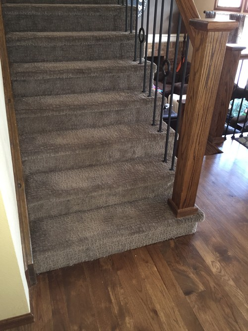 Do Staircase Treads Need To Match The Floor