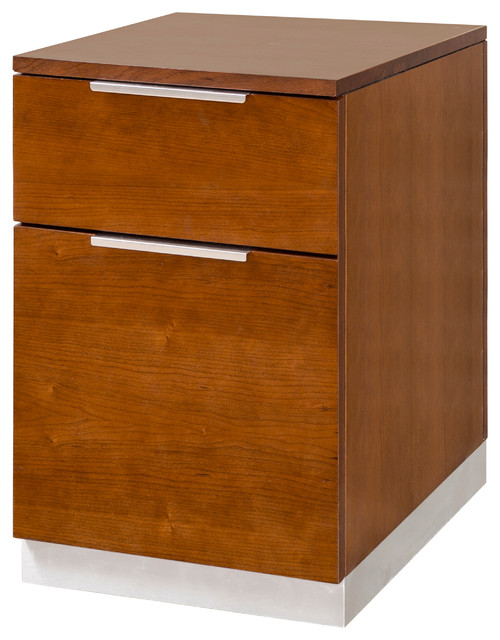 Monterey Mobile File Cabinet - Filing Cabinets - by Martin Main