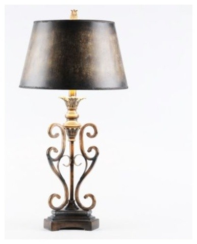 Scroll Table Lamp Traditional Table Lamps By Kirkland 39 S