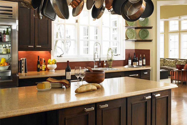 Seifer Countertop Ideas Traditional Kitchen Countertops New York By Seifer Kitchen