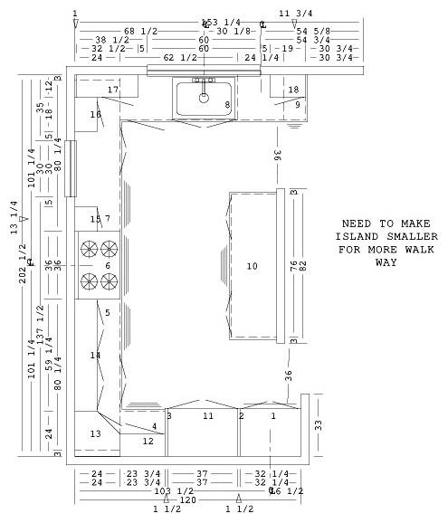 Layout Design Kitchen Cabinets: Kitchen Cabinet Layout Help