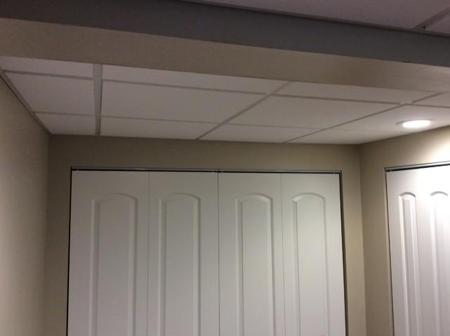 Multi Drywall Partition Llc : Basement ceiling in farmington hills mi traditional