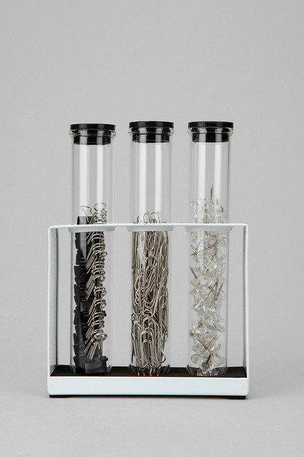 Test Tube Office Supply Set - Eclectic - Desk Accessories ...