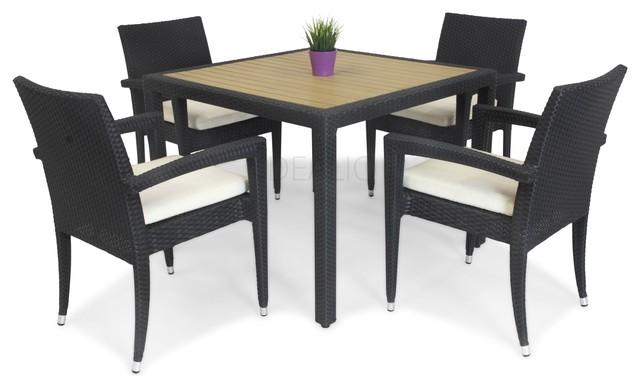 kara four outdoor dining set