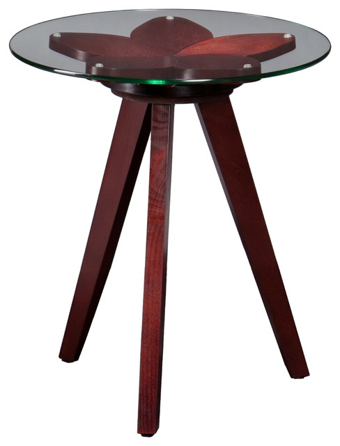 Upton Home Posie End Table Contemporary Side Tables End Tables By