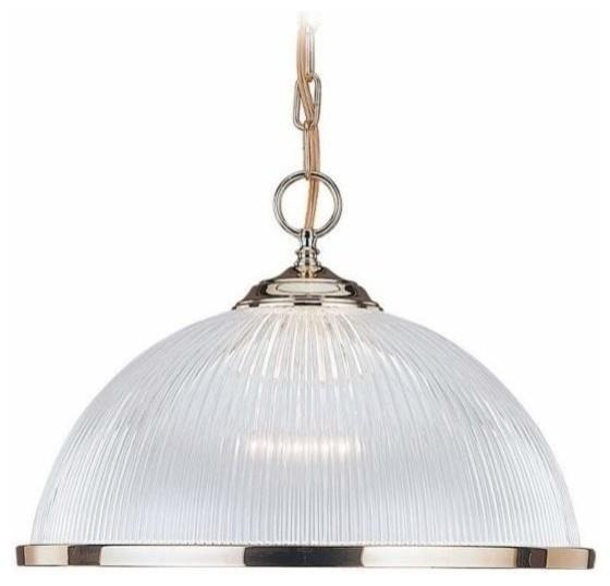 1 Light Pendant Polished Brass