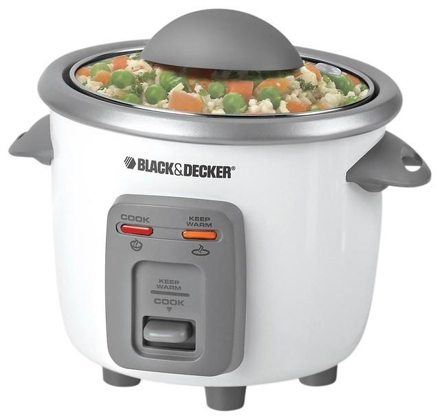 Black and decker 3 cup rice cooker contemporain cuiseur de riz et cuiseur vapeur par - Riz au cuiseur vapeur ...