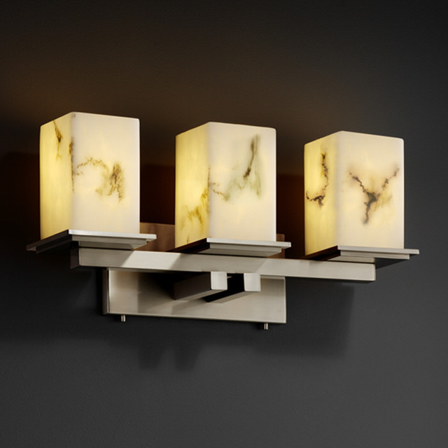 Justice Vanity Lights : Justice Design Group LumenAria Montana 3-light Bath Bar - Contemporary - Bathroom Vanity ...