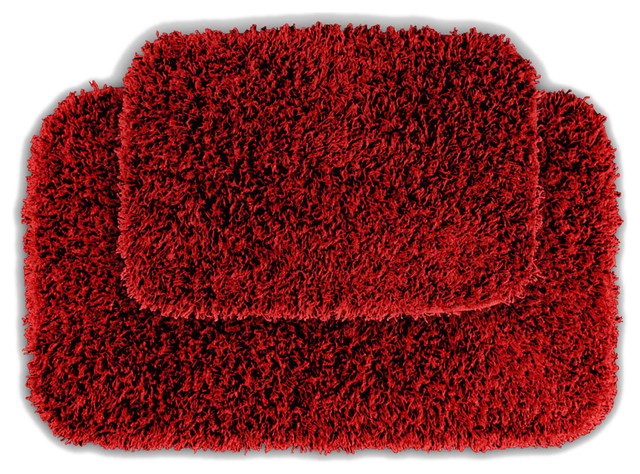 Quincy Super Shaggy Washable Runner Bath Rug Set Of 2 Rugs By Michael Anthony Furniture