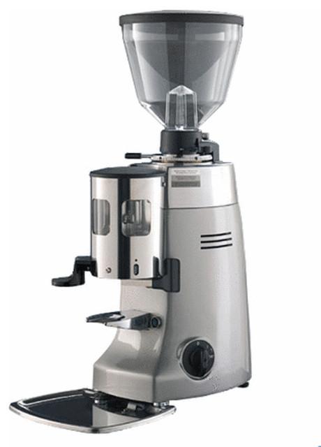 Mazzer Kony Coffee Grinder Silver Modern Coffee Grinders By