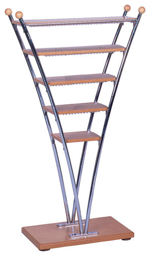 Cd tower traditional media racks and towers by welcome home accents - Cd storage rack tower ...