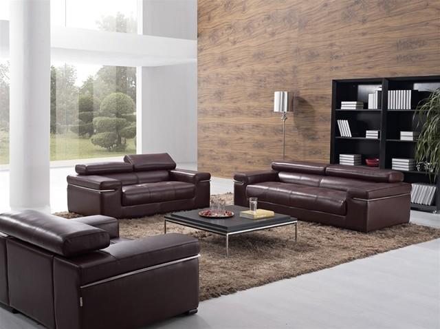 Krestan Living Room Leather Sofa Set Modern Living Room Furniture Sets