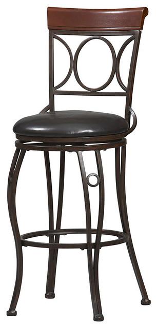 Circles back bar stool 30 traditional bar stools and - Traditional kitchen bar stools ...