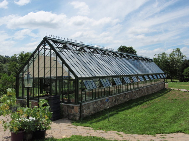 Large Victorian Glasshouse Large Victorian Glasshouses