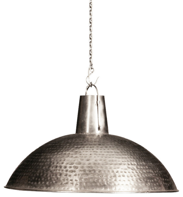 Calvin Hand Hammered Hanging Light By Dovetail