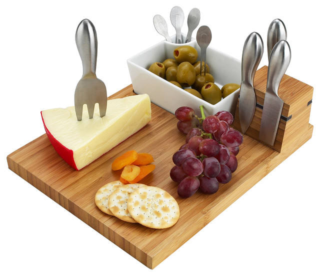 Buxton Cheese Board Set Modern Cheese Boards And