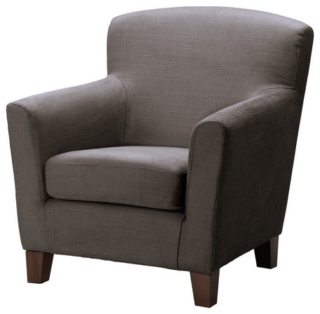Ikea eken s armchair grey brown - Fauteuil moderne ikea ...