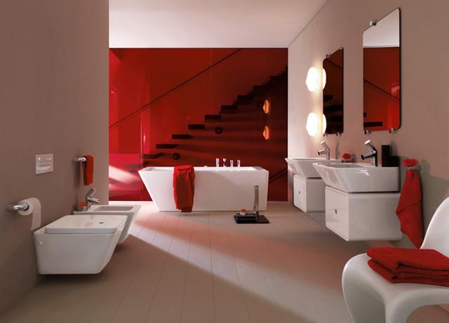 Luxury modern bathroom design contemporary bathroom for Luxury modern bathrooms