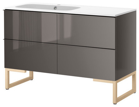 GODMORGON/NORRVIKEN Sink cabinet with 4 drawers ...