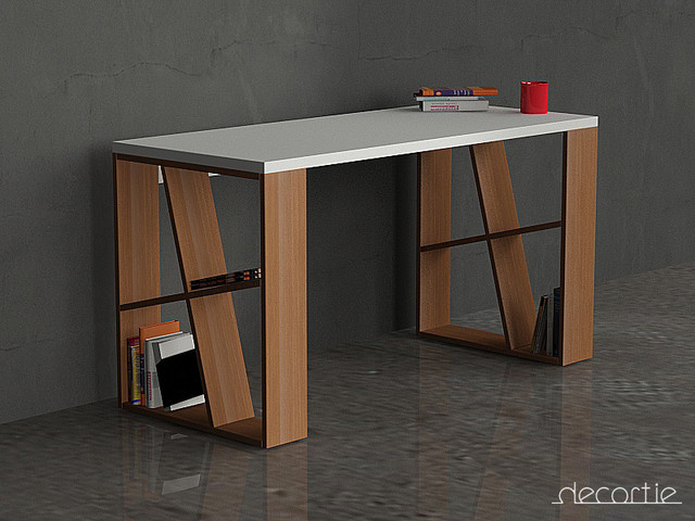 Decortie Working Desks Contemporary Desks And Hutches