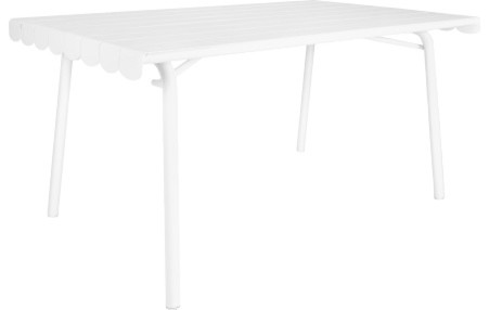 Cabana Petite Table De Jardin En Aluminium Modern Garden Dining Patio Tables By Habitat