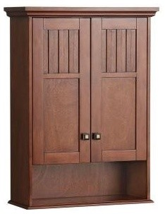foremost kncw2230 knoxville wall cabinet in nutmeg