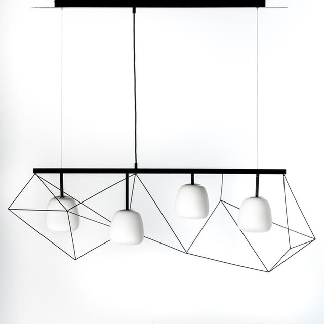 Suspension spiro design e gallina contemporain suspension luminaire p - Emmanuel gallina ampm ...