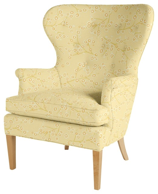Eloise Wingback Chair Modern Furniture by Maine Cottage