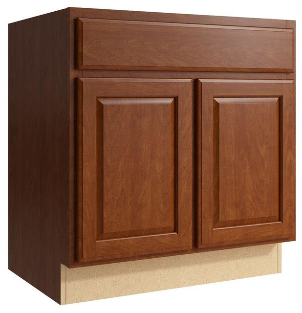 Cardell Cabinets Salvo 30 in. W x 31 in. H Vanity Cabinet Only in ...
