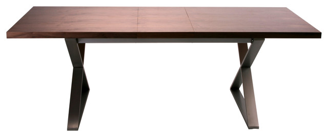 cabello extension dining table brown modern dining tables by