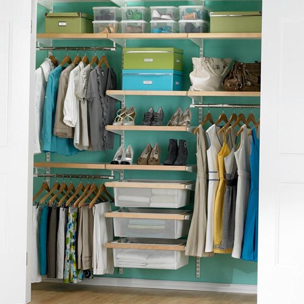 contemporary closet shelving 3
