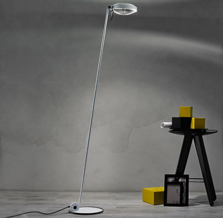 elle 1 floor lamp modern floor lamps by lightology. Black Bedroom Furniture Sets. Home Design Ideas