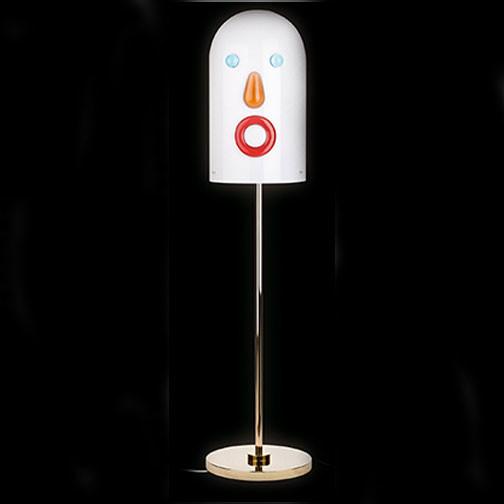mae west face floor lamp modern floor lamps by lightology. Black Bedroom Furniture Sets. Home Design Ideas