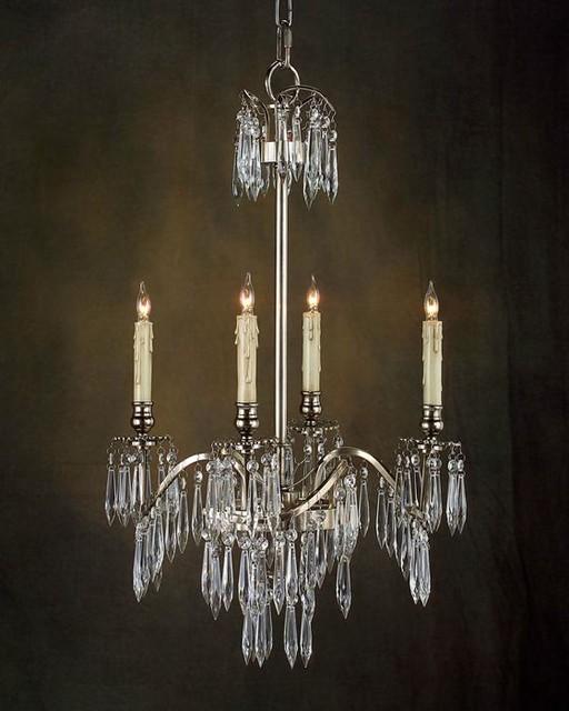 john richard 4 light chandelier ajc 8529 contemporary. Black Bedroom Furniture Sets. Home Design Ideas