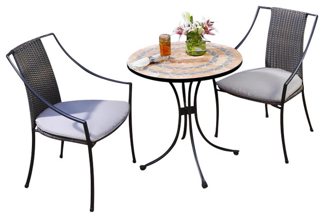 outdoor table and 2 chairs 1