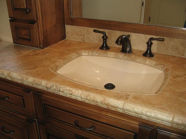 Shallow Sink Mediterranean Bathroom Sinks Sacramento