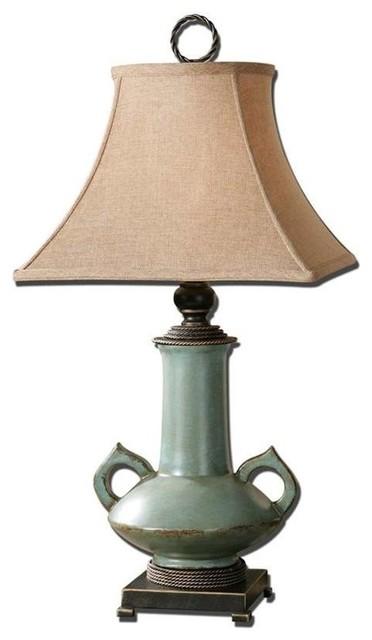 Uttermost Vamano Lamp Farmhouse Table Lamps by ShopFreely