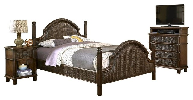 Tropical Bedroom Furniture Sets Queen Bed With Media Chest Tropical Bedroom Furniture Sets