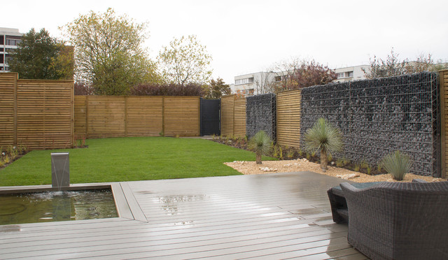 Jardin moderne for Amenagement jardin 300m2