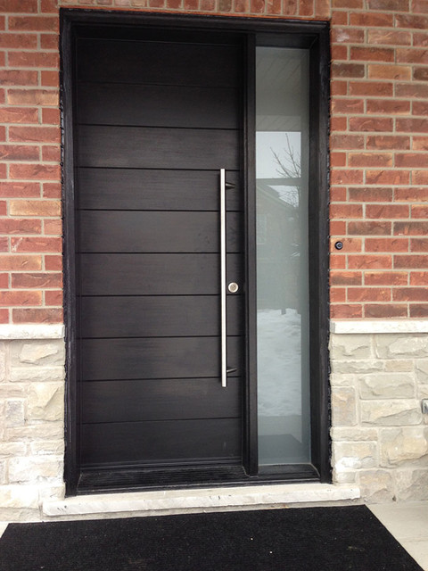 Modern doors modern front doors toronto by windows for Modern exterior doors
