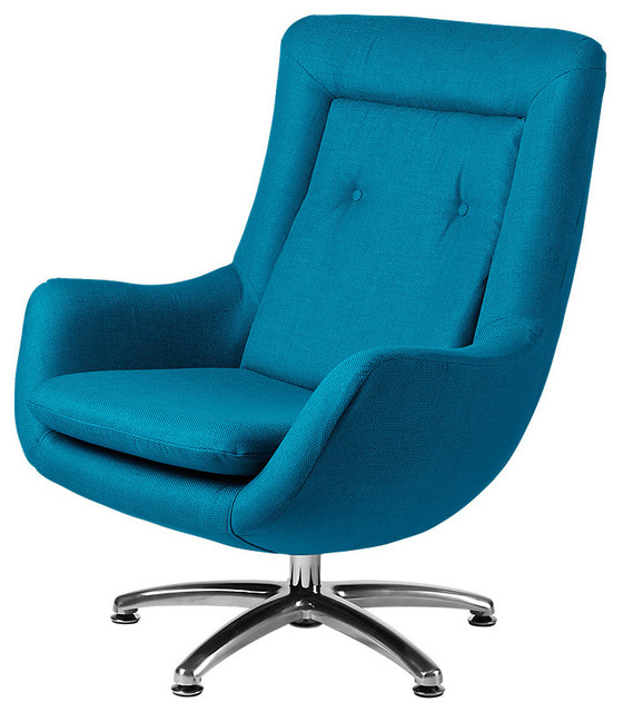Venus Chair In Turquoise Contemporary Armchairs And Accent Chairs By Sm
