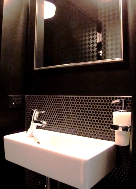 After renovations montreal bathroom powder room salle d for Bathroom design montreal