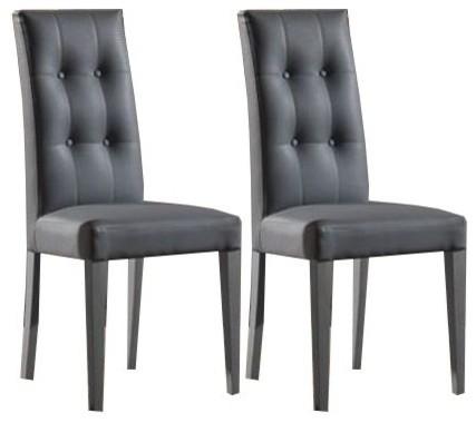chaises de salle a manger design cuir - Chaises Contemporaines Salle Manger