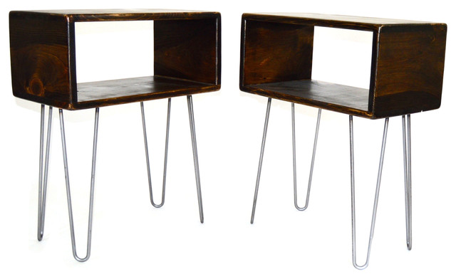 Mid Century Modern Side Table Set - Midcentury - Side Tables & End ...
