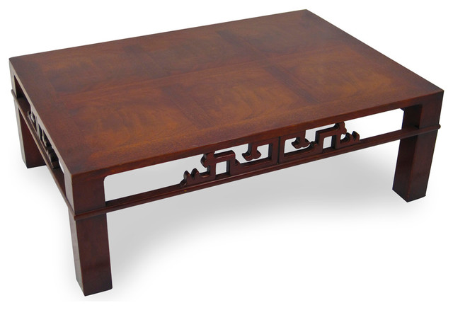 mahogany coffee table  2